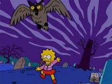Lisa medo cemiterio