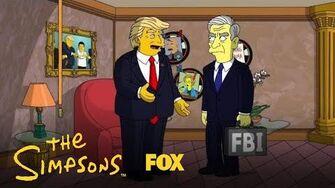 Mueller Meets Trump Season 29 THE SIMPSONS
