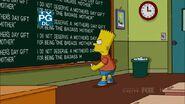 Homer Scissorhands Chalkboard Gag