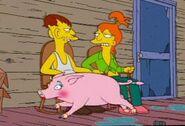Brandine schwein