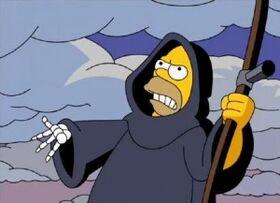 Homer grim reaper avat0