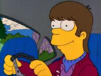 Homer jako nastolatek