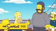 "Homer's Got Scurvy from ""The Wreck of the Relationship"" THE SIMPSONS ANIMATION on FOX"
