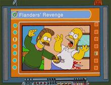 Flanders vingança homer