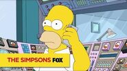 THE SIMPSONS Homer Is Live For The First Time Ever! ANIMATION on FOX