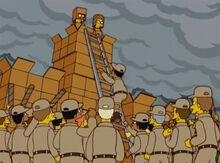 Castelo papelão 18x15 batalha 1