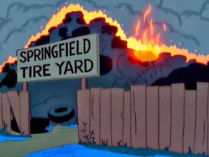 Depósito de Pneus de Springfield 2