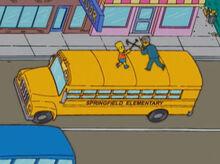 Bart vs skinner amendoim camarão ônibus