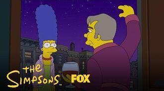 Detective Manacek Hits On Marge Season 29 Ep. 12 THE SIMPSONS