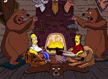 Homer grant connor ursos empalhados