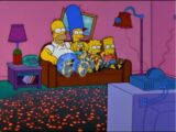 Burning Coal couch gag