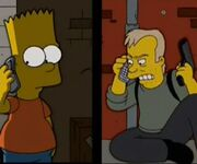 Bart and Jack Bauer