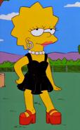 Lisa in Black Dress