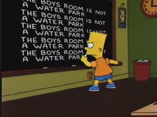 Lisa the Vegetarian Chalkboard Gag
