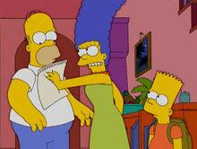 Marge brava alistamento bart homer