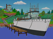 Mason homer casa barco