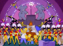 Simpsons abertura circo