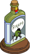 Strupo Statue Tapped Out