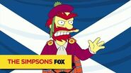 THE SIMPSONS Willie's Views On Scottish Independence ANIMATION on FOX