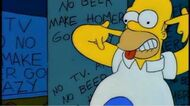 The Simpsons - No Tv and No Beer