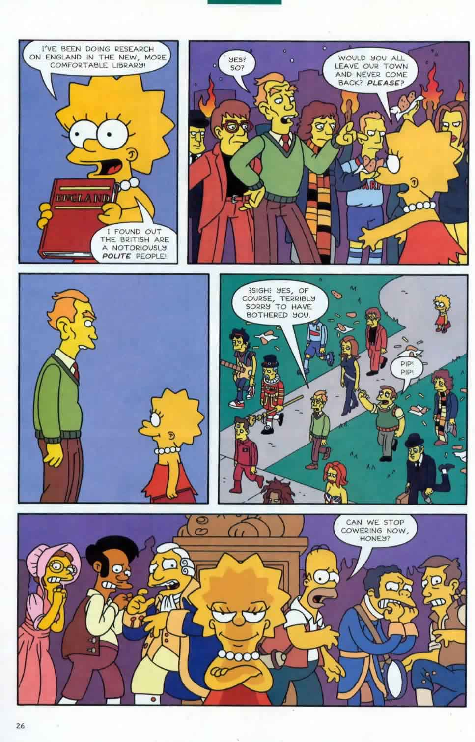 22 Short Films About Springfield Season 7 Episode 21 Simpsons World On Fxx