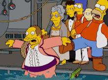 Homer chuta jeff vai gordo