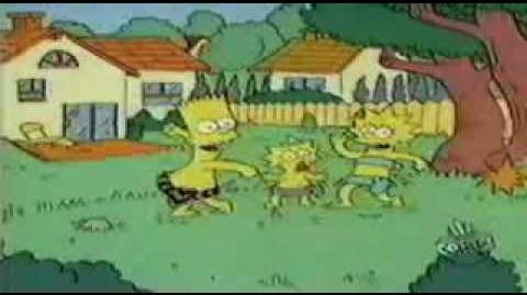 Simpsons Shorts-Bart of the Jungle