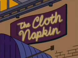 The Cloth Napkin