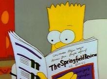 Bart vendo gore vidal resenha literária 01x12
