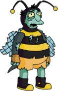 Tapped Out Bumblebee Man Zombie