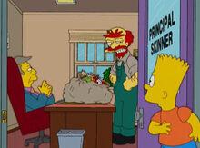 Bart descobre alergia skinner