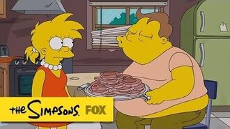 "Kiss of Death from ""Luca$"" THE SIMPSONS ANIMATION on FOX"