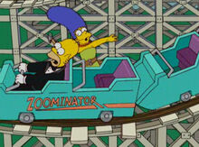 Marge conserto trilhos zoominator 2