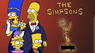 The Simpsons at The Emmys 1990