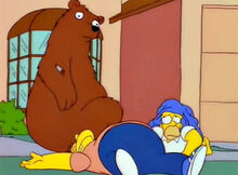 Urso dardo barney homer