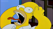 Homer scream treehouse
