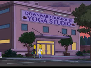 Estúdio de Yoga Downward Doghouse