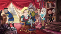 Fry and Lisa's Hair in Disenchantment