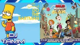 "Nancy Cartwright (Bart Simpson) vs. ""Weird Al"" Yankovic (Milo Murphy) - Bartman's Law (Mashup Mix)"