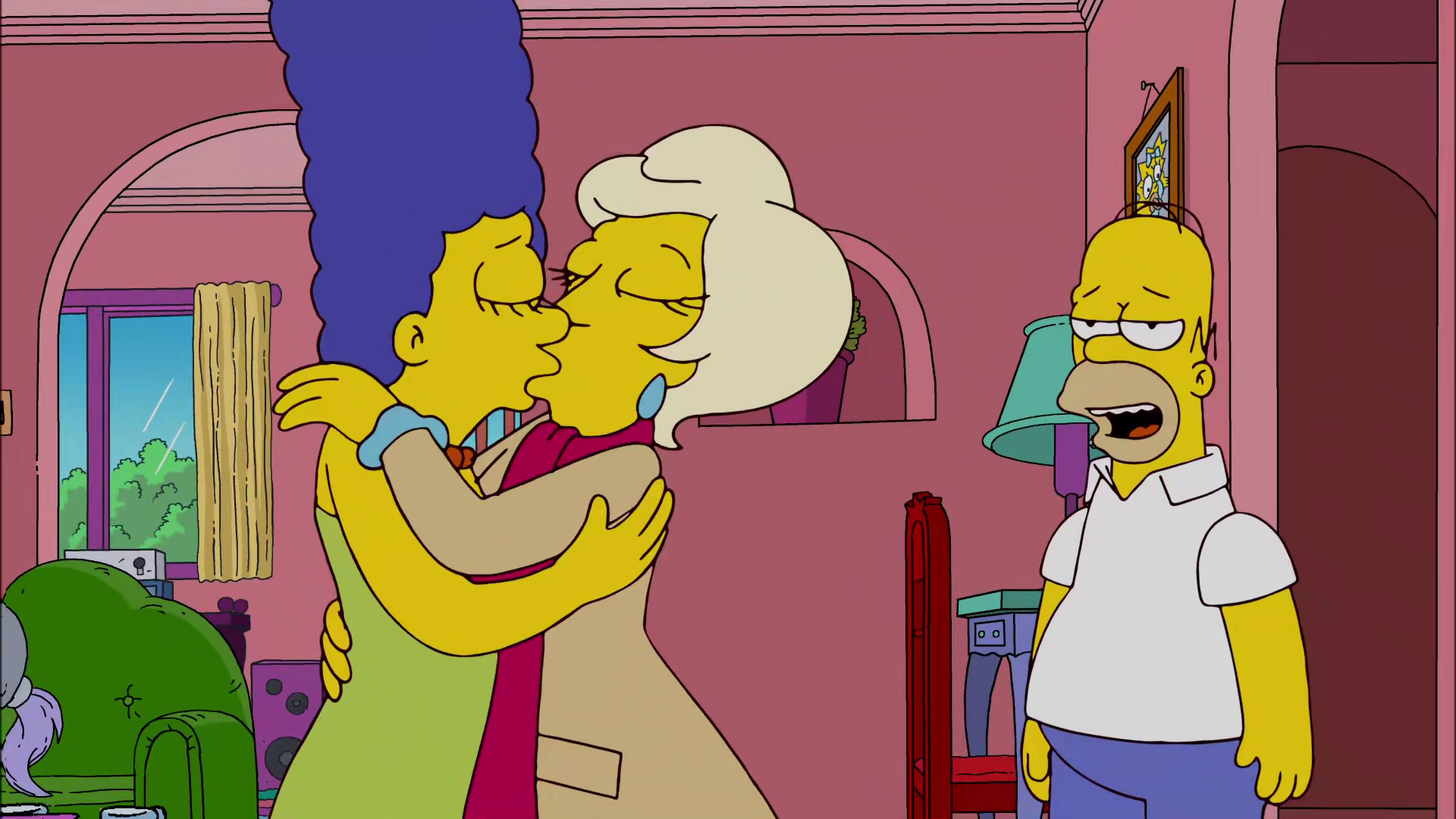 Simpsons sleep over sex story
