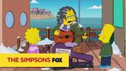 "THE SIMPSONS Talented from ""Gal of Constant Sorrow"" ANIMATION on FOX"