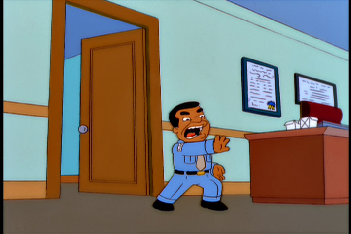 Image result for simpsons gary coleman