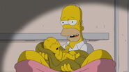 Homer holding baby 01040307