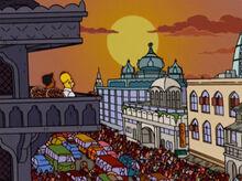Homer kavi índia crepúsculo