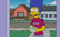 Marge sprzedawczyni