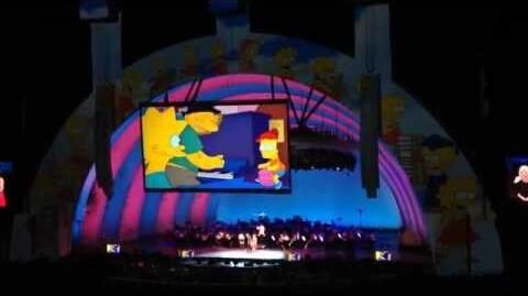 Happy Birthday Lisa at Hollywood Bowl - The Simpsons Take the Bowl