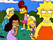 Lisa's treatment from her 'friends'