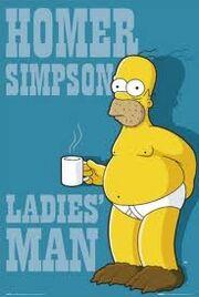 Homer de cueca