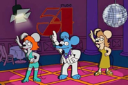 Itchy mouse disco