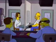 Flanders na terapii z Homerem